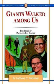 Cover of: Giants walked among us