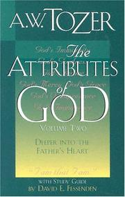 Cover of: The Attributes of God, Volume 2 | A. W. Tozer