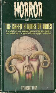 Cover of: The Green flames of Aries (Horroscope)