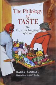 Cover of: The philology of taste