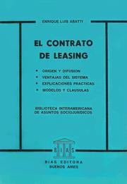 Cover of: EL CONTRATO DE LEASING by
