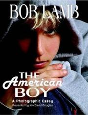 Cover of: The American Boy, A Photographic Essay | Jon David Douglas