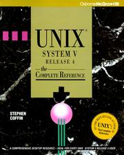 Cover of: Unix System V Release 4