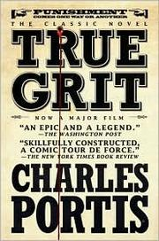 Cover of: True grit.