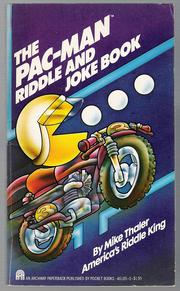 The Pac Man Riddle and Joke Book by Mike Thaler