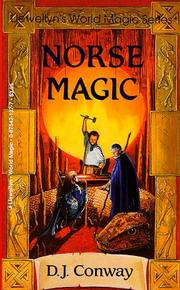 Cover of: Norse magic by D. J. Conway