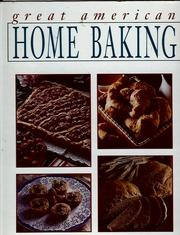 Cover of: Great American Home Baking by