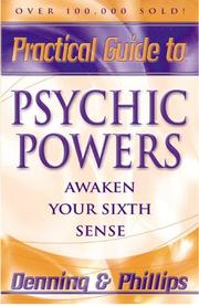 Cover of: Practical Guide To Psychic Powers