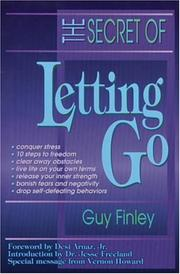 Cover of: The secret of letting go