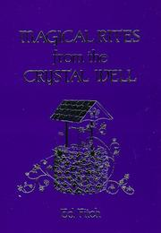 Cover of: Magical rites from the Crystal well