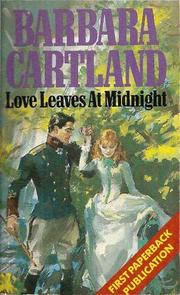 Cover of: Love Leaves at Midnight
