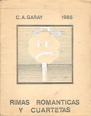 Cover of: RIMAS ROMÁNTICAS Y CUARTETAS by