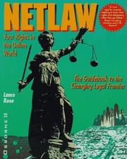 Cover of: Netlaw | Lance Rose