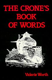 Crones Book Of Words