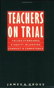 Cover of: Teachers on Trial