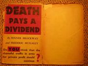 Cover of: Death pays a dividend