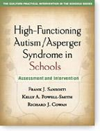 Cover of: High-functioning autism/Asperger syndrome in schools | Frank J. Sansosti