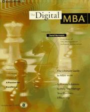Cover of: The Digital Mba/Book and Cd-Rom | Daniel Burnstein