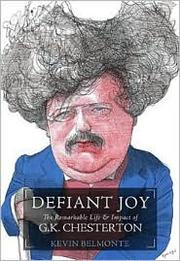 Cover of: Defiant joy | Kevin Charles Belmonte