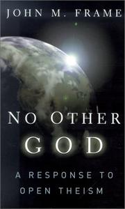 Cover of: No Other God