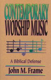 Cover of: Contemporary worship music