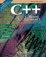 Cover of: C, the complete reference