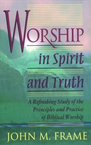 Cover of: Worship in spirit and truth