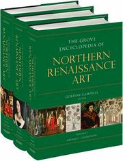 Cover of: The Grove encyclopedia of northern Renaissance art |