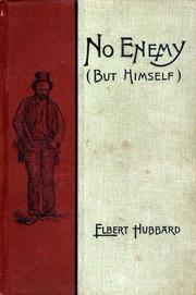Cover of: No enemy (but himself)