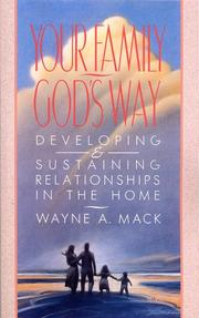 Cover of: Your family, God's way