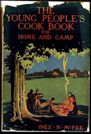 Cover of: Young people's cook book