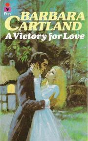 Cover of: Victory for Love by Barbara Cartland