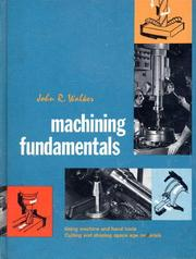 Cover of: Machining Fundamentals