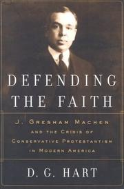Cover of: Defending the faith