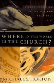 Cover of: Where in the world is the church?