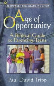 Cover of: Age of opportunity