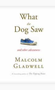 Cover of: What the dog saw and other adventure stories
