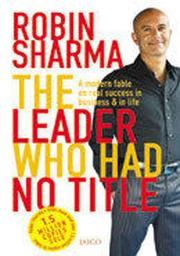 Cover of: The leader who had no title