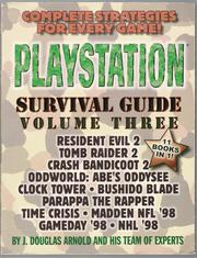 Cover of: PlayStation Survival Guide: Volume Three