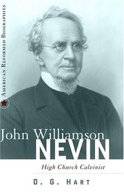 Cover of: John Williamson Nevin