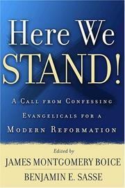 Cover of: Here we stand