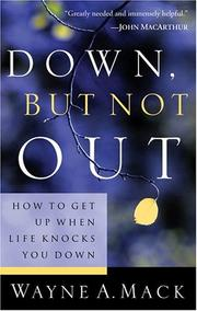 Cover of: Down, but not out