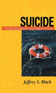 Cover of: Suicide by Jeffrey S. Black