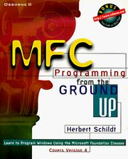 Cover of: MFC programming from the ground up