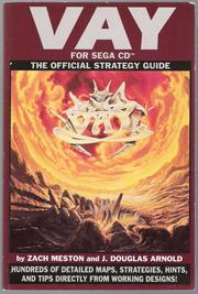 Cover of: Vay: The Official Strategy Guide (for Sega CD)