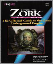 Cover of: Return to Zork