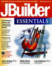 Cover of: JBuilder essentials