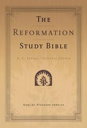 Cover of: Reformation Study Bible-ESV (Black) |