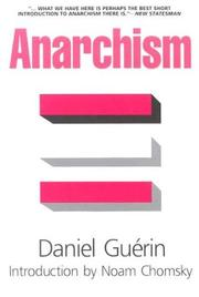 Cover of: Anarchism: From Theory to Practice