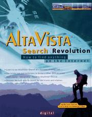 Cover of: The AltaVista Search Revolution | Richard Seltzer